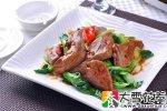 菜心炒猪肝的营养价值